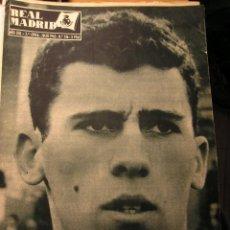 Coleccionismo deportivo: REVISTA REAL MADRID 1962 BRASIL CAMPEONA DEL MUNDO. Lote 43956324