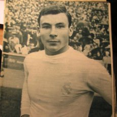 Coleccionismo deportivo: REVISTA REAL MADRID 1964 X COPA DE EUROPA ELIMINA AL BOLDKLUBBEN. Lote 43956356