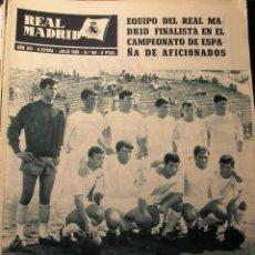 Coleccionismo deportivo: REVISTA REAL MADRID 1965 HOMENAJE RAYO VALLECANO. Lote 43956400
