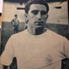 Coleccionismo deportivo: REVISTA REAL MADRID JULIO 1964 MOROLLON. Lote 43956456