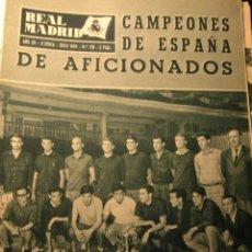 Coleccionismo deportivo: REVISTA REAL MADRID JULIO 1964. Lote 43956470