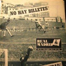Coleccionismo deportivo: REVISTA REAL MADRID FEBRERO 1964 NO HAY BILLETES. Lote 43956480