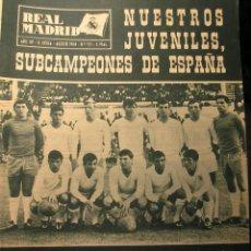 Coleccionismo deportivo: REVISTA REAL MADRID AGOSTO 1964. Lote 43956515