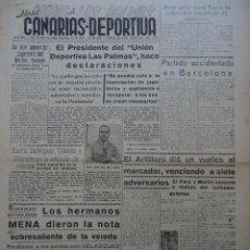 Collezionismo sportivo: CANARIAS DEPORTIVA. 29 DE AGOSTO. 1949. Lote 43985683