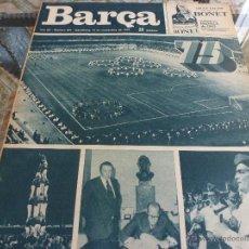 Colecionismo desportivo: (ABJ)REVISTA BARÇA Nº: 991(14-11-74)CELEBRACIÓN 75 ANIVER.BARÇA-MANCHESTER CITY Y BARÇA- L.PALMAS. Lote 136861214