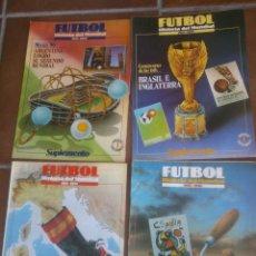 Coleccionismo deportivo: FUTBOL,HISTORIA DEL MUNDIAL-SUPLEMENTO-Nº1-4-6-8.. Lote 44034107