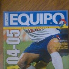 Coleccionismo deportivo: GUIA LIGA TEMPORADA 2004-2005 04-05. Lote 44118509