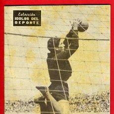 Coleccionismo deportivo: REVISTA FUTBOL , DOMINGUEZ , IDOLOS DEL DEPORTE , TIPO BIOGRAFIA , FOTOS, ORIGINAL , B. Lote 44160621