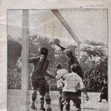 Coleccionismo deportivo: REPORTAJE / FUTBOL - F.C. BARCELONA / BARÇA CAMPEON DE ESPAÑA - REVISTA AIRE LIBRE - AÑO 1925. Lote 44435558