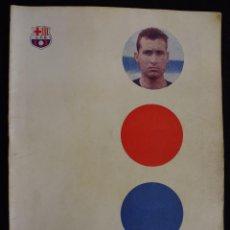 Coleccionismo deportivo: PROGRAMA DEL FUTBOL CLUB FC BARCELONA F.C BARÇA CF FECHA 14 OCTUBRE 1961 JUGADOR GRACIA. Lote 44709455