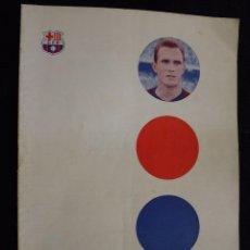 Coleccionismo deportivo: PROGRAMA DEL FUTBOL CLUB FC BARCELONA F.C BARÇA CF FECHA 7 OCTUBRE 1961 JUGADOR RODRI. Lote 44709545