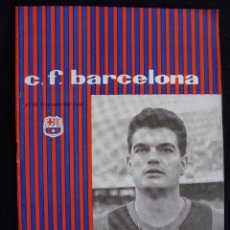 Coleccionismo deportivo: PROGRAMA DEL FUTBOL CLUB FC BARCELONA F.C BARÇA CF FECHA 14 NOVIEMBRE 1959 JUGADOR GENSANA. Lote 44711554