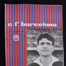 Coleccionismo deportivo: PROGRAMA DEL FUTBOL CLUB FC BARCELONA F.C BARÇA CF FECHA 2 ABRIL 1960 JUGADOR CARLOS MADRANO. Lote 44711681