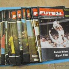 Coleccionismo deportivo: ENCICLOPEDIA DEL FUTBOL, LOTE DE 14 REVISTAS,. Lote 44749723