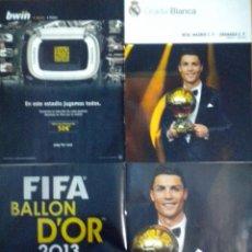Coleccionismo deportivo: REVISTA GRADA POSTER CRISTIANO RONALDO BALON DE ORO GOLDEN BALL GRANADA C.F.. Lote 44874918