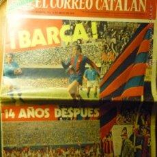 Collectionnisme sportif: DIARIO EL CORREO CATALAN .-ESPECIAL MAYO 1974 DEDICADO AL F.C.BARCELONA-BARÇA. Lote 44912834