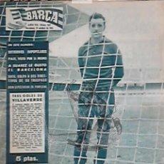 Coleccionismo deportivo: EKL REVISTA BARÇA 307. FUTBOL CLUB BARCELONA 1961.. Lote 45000038