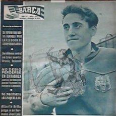 Coleccionismo deportivo: EKL REVISTA BARÇA 155. FUTBOL CLUB BARCELONA 1958.. Lote 45000260