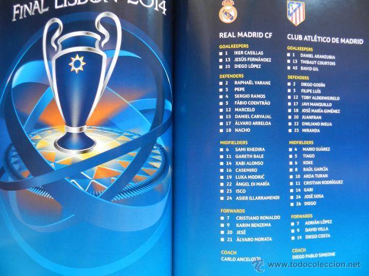 Coleccionismo deportivo: PROGRAMA OFICIAL FINAL CHAMPIONS LEAGUE 2014 GUIA DECIMA REAL MADRID CAMPEON OFFICIAL GUIDE ATLETICO - Foto 6 - 45139829