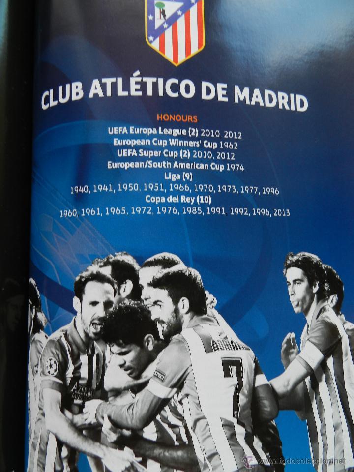 Coleccionismo deportivo: PROGRAMA OFICIAL FINAL CHAMPIONS LEAGUE 2014 GUIA DECIMA REAL MADRID CAMPEON OFFICIAL GUIDE ATLETICO - Foto 7 - 45139829