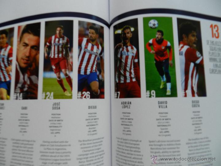 Coleccionismo deportivo: PROGRAMA OFICIAL FINAL CHAMPIONS LEAGUE 2014 GUIA DECIMA REAL MADRID CAMPEON OFFICIAL GUIDE ATLETICO - Foto 10 - 45139829