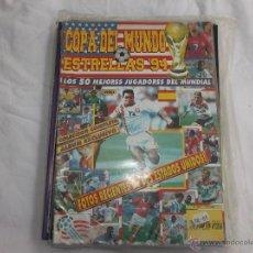 Coleccionismo deportivo: COPA DEL MUNDO ESTRELLAS 94 Nº 201: LOS 50 MEJORES JUGADORES DEL MUNDIAL. FOTOS DE MARADONA,SALINAS,. Lote 45425930