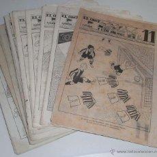 Coleccionismo deportivo: REVISTA DEPORTIVA ONCE. BARCELONA. AÑOS 40. LOTE DE 18 EJEMPLARES PRIMEROS AÑOS DE CIRCULACIÓN. Lote 45709250