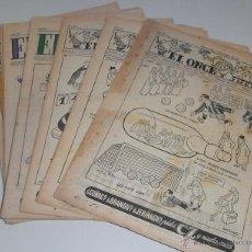 Coleccionismo deportivo: REVISTA DEPORTIVA ONCE. BARCELONA. AÑOS 50. LOTE DE 10 EJEMPLARES . Lote 45709445