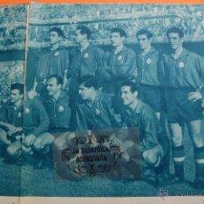Coleccionismo deportivo: ARTICULO 1957 - ESPAÑA CONTRA TURQUIA KUBALA 3 GOLES - ATHLETIC DE BILBAO - 6 PAGINAS. Lote 45753722