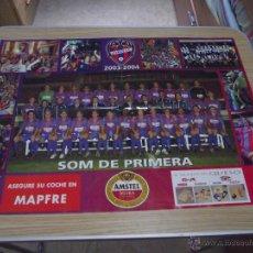 Coleccionismo deportivo: POSTER DEL LEVANTE SOM DE PRIMERA 2003-2004. Lote 45834959