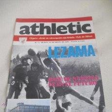 Coleccionismo deportivo: Nº 5. REVISTA OFICIAL DEL ATHLETIC CLUB DE BILBAO. 10-051973.POSTER URIARTE. LEZAMA. GARAY,FUTBOL.. Lote 46102961