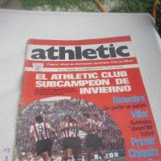 Coleccionismo deportivo: Nº 13. REVISTA OFICIAL DEL ATHLETIC CLUB DE BILBAO. 10-01-1974.POSTER IGARTUA. VILLAR...FUTBOL. Lote 46103449