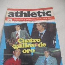 Coleccionismo deportivo: Nº 35. REVISTA OFICIAL DEL ATHLETIC CLUB DE BILBAO. 10-11-1975.POSTER IRURETA. ROJO I,URRUTIA,GOICO.. Lote 46103638