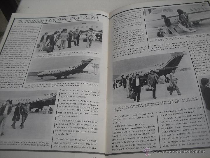 Coleccionismo deportivo: Nº 35. Revista Oficial del Athletic Club de Bilbao. 10-11-1975.Poster Irureta. Rojo I,Urrutia,Goico. - Foto 7 - 46103638