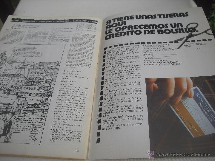 Coleccionismo deportivo: Nº 35. Revista Oficial del Athletic Club de Bilbao. 10-11-1975.Poster Irureta. Rojo I,Urrutia,Goico. - Foto 8 - 46103638