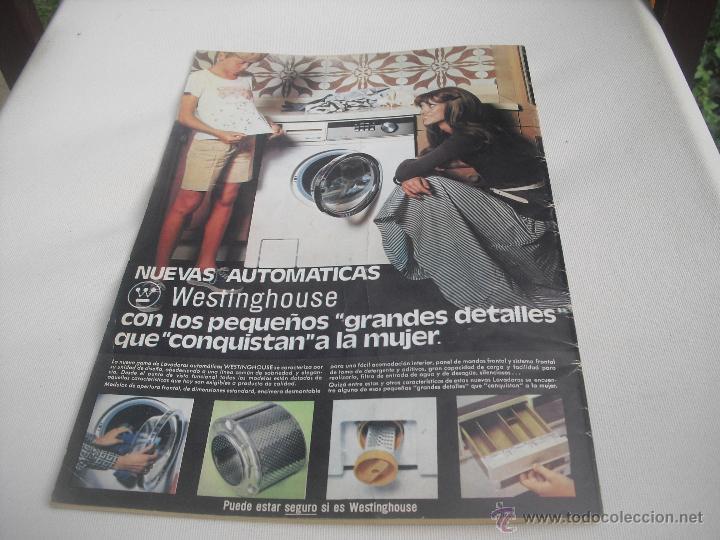 Coleccionismo deportivo: Nº 35. Revista Oficial del Athletic Club de Bilbao. 10-11-1975.Poster Irureta. Rojo I,Urrutia,Goico. - Foto 9 - 46103638