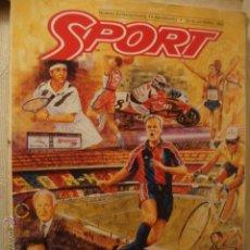 Coleccionismo deportivo: REVISTA SPORT. Lote 46111046