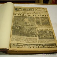Coleccionismo deportivo: SEMANARIO DEPORTES; VALENCIA 1971. Lote 46175666
