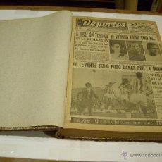 Coleccionismo deportivo: SEMANARIO DEPORTES; VALENCIA 1964. Lote 46219450