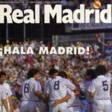 Coleccionismo deportivo: REAL MADRID-REVISTA Nº 7-NOVIEMBRE 1989. Lote 46229377