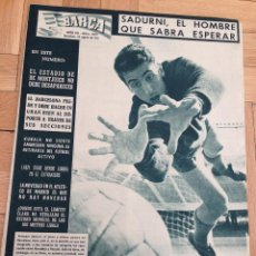 Coleccionismo deportivo: REVISTA BARÇA 299 BARCELONA 1961 SADURNI KUBALA. Lote 46240675
