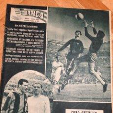 Coleccionismo deportivo: REVISTA BARÇA 182 BARCELONA 1959 REAL MADRID 2 BARCELONA 4 SUAREZ KUBALA MARQUITOS DI STEFANO. Lote 46244818