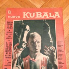Coleccionismo deportivo: REVISTA BARÇA 295 BARCELONA 1961 KUBALA. Lote 46282242