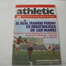 Coleccionismo deportivo: Nº 25. REVISTA OFICIAL DEL ATHLETIC CLUB DE BILBAO. 10-01-1975. POSTER ZALDUA. FUTBOL. Lote 46282925
