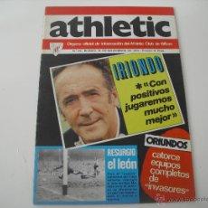 Coleccionismo deportivo: Nº 23. REVISTA OFICIAL DEL ATHLETIC CLUB DE BILBAO. 10-11-1974. POSTER ESCALZA. IRIONDO... FUTBOL. Lote 46282939
