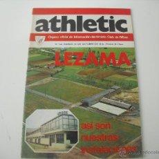 Coleccionismo deportivo: Nº 22. REVISTA OFICIAL DEL ATHLETIC CLUB DE BILBAO. 10-10-1974. POSTER IRIONDO. LEZAMA.. FUTBOL. Lote 46282955
