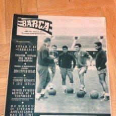 Coleccionismo deportivo: REVISTA BARÇA 352 BARCELONA 1962 CARRANZA DI STEFANO LUIS FOLLEDO. Lote 46286220