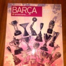 Coleccionismo deportivo: BARÇA REVISTA OFICIAL FC BARCELONA AGOST-SETEMBRE 2011 Nº 52. Lote 46315243