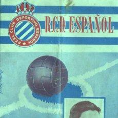 Collectionnisme sportif: REVISTA DE FUTBOL R.C.D. ESPAÑOL CONTRA REAL OVIEDO 9-11-1952 - ARGILA DEL OVIEDO. Lote 46399025