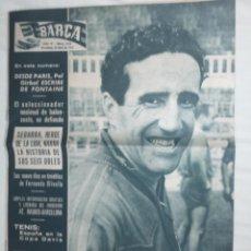 Coleccionismo deportivo: REVISTA BARÇA Nº 174 ABRIL 1959. F.C. BARCELONA CAMPEÓN DE LIGA 1958-59 EN EL METROPOLITANO.. Lote 46575146